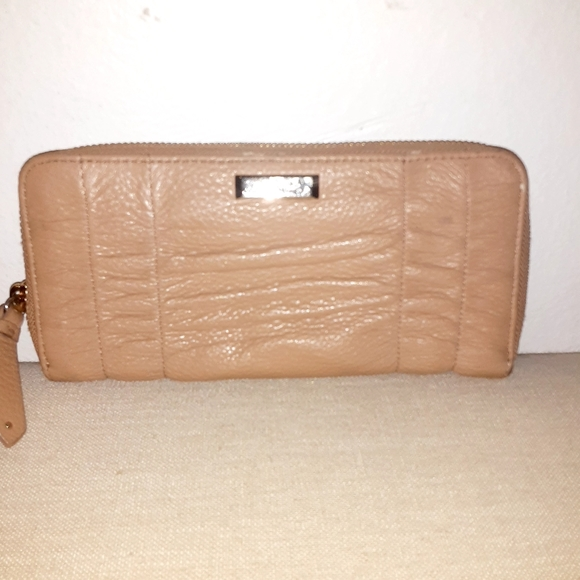 Cole Haan tan leather wallet